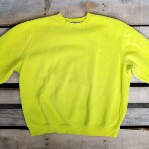 Other - Lime Green Crewneck